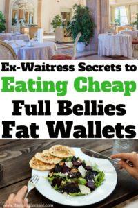 Get The Best Restaurant Deals - 13 Tips From a Former Waitress