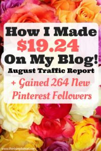 The Rising Damsel - Fifth Blog Income and Traffic Report