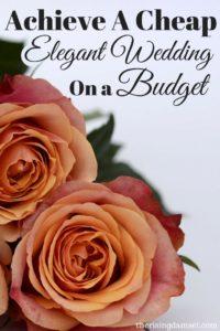 11 Easy Ways to Use A Wedding Budget to Achieve an Elegant Day